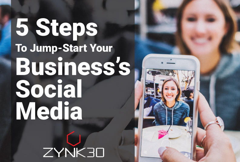 5 Steps to jump Start Your Business's Social Media