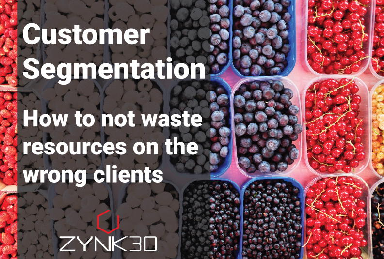 Zynk30 Customer Segmentation cover picture